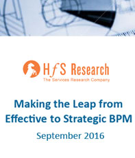 Making the leap from effective to strategic BPM